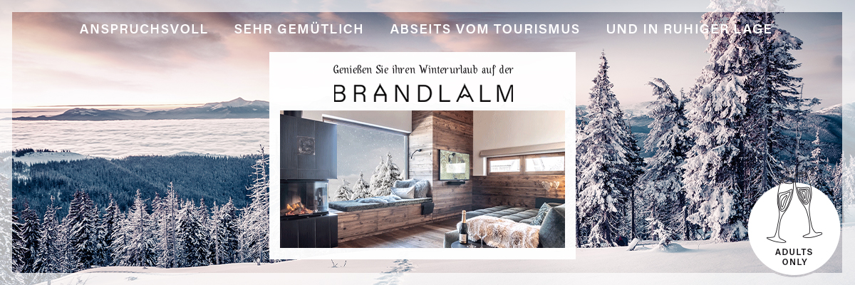Brandlalm - Winterurlaub Adults Only Chalets Lavanttal Kärnten