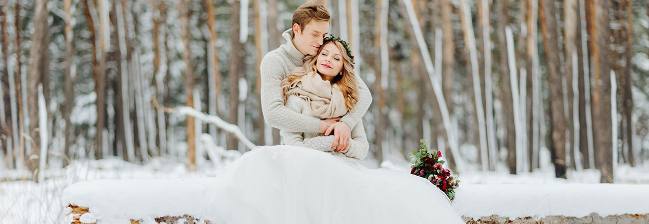 Event-Chalets - Winterhochzeit in Lodges & Hütten