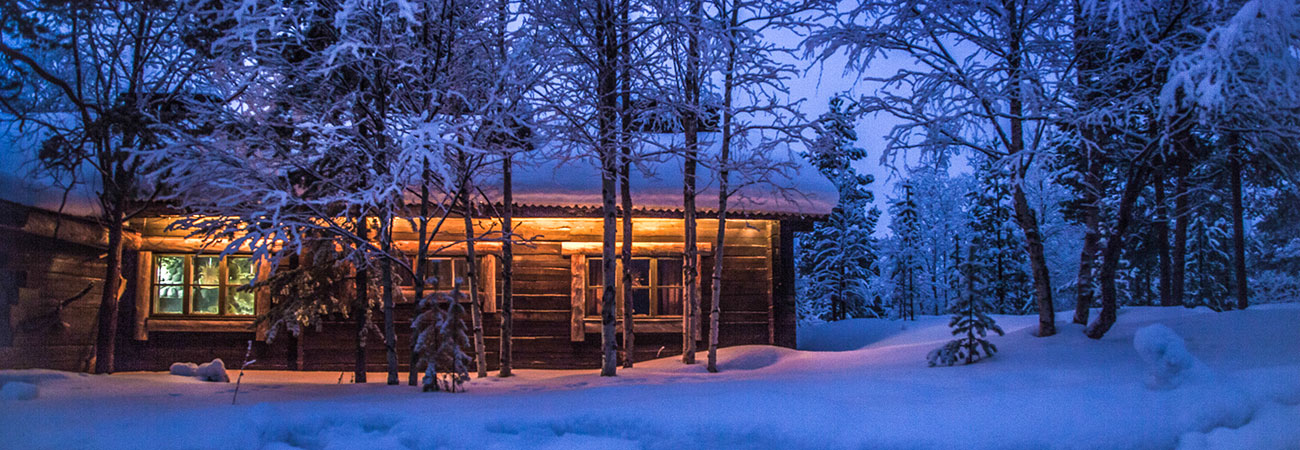 Winterurlaub in traditionelle Chalets