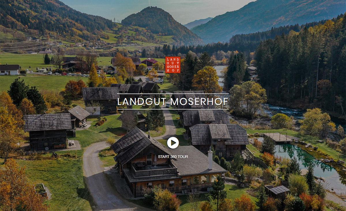 3D Rundgang Chalets Landgut Moserhof